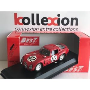 【送料無料】模型車 モデルカー スポーツカー アルファロメオルマンalfa romeo tz2 n42 le mans 1965