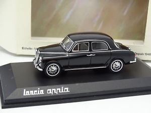 【送料無料】模型車 モデルカー スポーツカー ランチアアッピアnorev 143 lancia appia noire