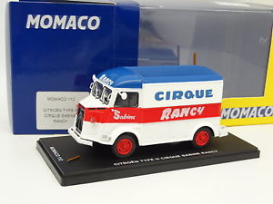 【送料無料】模型車 モデルカー スポーツカー シトロエンタイプシルクeligor 143 citroen type h cirque sabine rancy