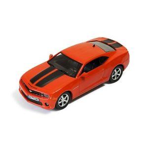【送料無料】模型車 モデルカー スポーツカー シボレーカマロメタリックオレンジストライプファインアート