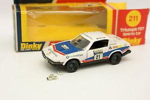 【送料無料】模型車 モデルカー スポーツカー ラリーdinky toys gb 143 triumph tr7 rac rally 1977 n21
