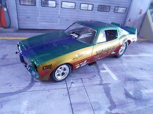 【送料無料】模型車 モデルカー スポーツカー piontiac firebird dragster funny car 1970 muscle car v8 ertl autoworld sp 118