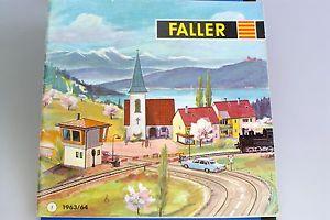 【送料無料】模型車 モデルカー スポーツカー カタログフランスoriginal faller katalog frankreich von 196364*******