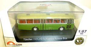 【送料無料】模型車 モデルカー スポーツカー スイスバスボルボ×schweizer armeebus volvo tscher arwico 85002603 h0 ovp 187  *