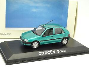 【送料無料】模型車 モデルカー スポーツカー シトロエンnorev 143 citroen saxo verte