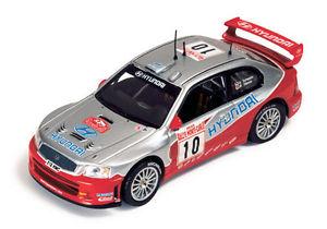 【送料無料】模型車 モデルカー スポーツカー ヒュンダイアクセントモンテカルロhyundai accent wrc montecarlo 2003 scwatrzhiemer ram121 143 ixomodels