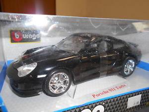 【送料無料】模型車 モデルカー スポーツカー ポルシェターボゴールドコレクションbbu12030 by bburago porsche 911 turbo gold collection 118
