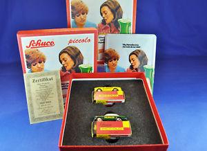 【送料無料】模型車 モデルカー スポーツカー schuco piccoloset 05807 palmolive, limit, edition 2004, 2 autos 2 cars