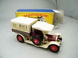 【送料無料】模型車 モデルカー スポーツカー マッチマイカブラウンプランベージュmatchbox moy c2 y26 crossley mica xi rotbraunbeige mit plane selten ovp k22