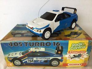 【送料無料】模型車 モデルカー スポーツカー プジョーターボラジオコントロールjoustra peugeot 405 turbo 16 radio control au 116 annes 1980
