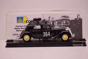 【送料無料】模型車 モデルカー スポーツカー シトロエントションモンテカルロ#citroen traction monte carlo 1952 364 cb com 143 neuve en boite n 23200