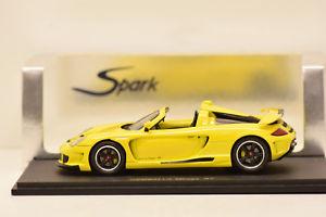 【送料無料】模型車 モデルカー スポーツカー ポルシェミラージュグアテマラスパークgemballa mirage gt porsche spark 143 en boite