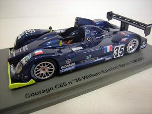 【送料無料】模型車 モデルカー スポーツカー スパークルマン#spark 143 courage c65 35 le mans 2004