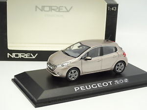 【送料無料】模型車 モデルカー スポーツカー プジョーブロッサムnorev 143 peugeot 208 5 portes blossom