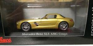 【送料無料】模型車 モデルカー スポーツカー メルセデスベンツゴールドメタリック143 schuco mb mercedesbenz sls amg c197 goldmetallic 450741400