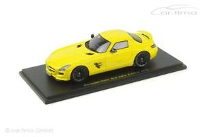 【送料無料】模型車 モデルカー スポーツカー メルセデスベンツセルスパークmercedesbenz sls amg ecell gelb spark 143 s1058