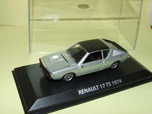【送料無料】模型車 モデルカー スポーツカー ルノーrenault 17 ts 1974 gris norev