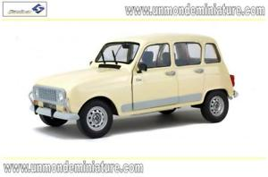 【送料無料】模型車 モデルカー スポーツカー ルノーベージュエシェルrenault 4l gtl clan de 1984 beige solido so 1800101 echelle 118
