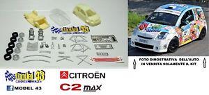 【送料無料】模型車 モデルカー スポーツカー シトロエンキットcitroen c2 max  kit montaggio