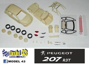 【送料無料】模型車 モデルカー スポーツカー プジョーキットpeugeot 207 r3t   kit montaggio