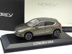 【送料無料】模型車 モデルカー スポーツカー シトロエンnorev 143 citroen ds4 verte