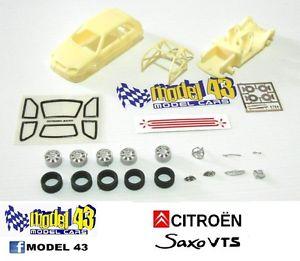 【送料無料】模型車 モデルカー スポーツカー シトロエンキットcitroen saxo   kit montaggio
