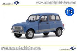 【送料無料】模型車 モデルカー スポーツカー エシェルreanult 4l gtl clan 1984 bleu ardoise solido so 1800107 echelle 118
