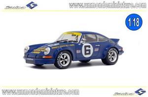 【送料無料】模型車 モデルカー スポーツカー ポルシェデイトナporsche 911 rsr 28 6 donohuefollmer sunoco 24h of daytona 1973 solido 1801105