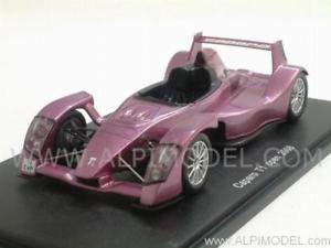 【送料無料】模型車 モデルカー スポーツカー スパークcaparo t1 2008 open purple 143 spark s0629