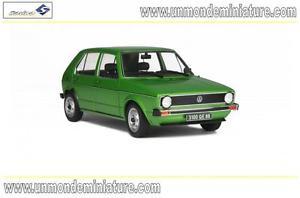 【送料無料】模型車 モデルカー スポーツカー フォルクスワーゲンゴルフグリーンメタリックエシェルvolkswagen golf de 1983 green mtallic solido so 1800203 echelle 118