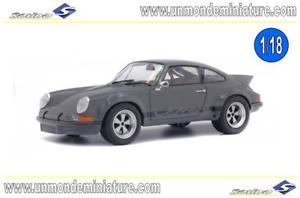 【送料無料】模型車 モデルカー スポーツカー ポルシェエシェルporsche 911 rsr 28 grise groupe b 1973 solido so 1801107 echelle 118