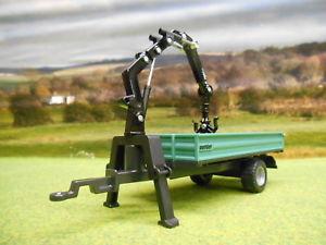 【送料無料】模型車 モデルカー スポーツカー ファームステーションワゴントレーラーログクレーンsiku farm oehler kombiwagen tipping tipper log trailer amp; crane 132 2896