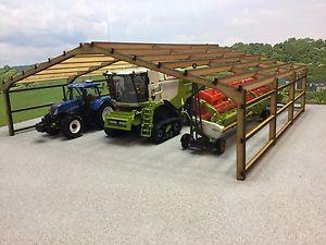 【送料無料】模型車 モデルカー スポーツカー メイソンファームネイバーmasons attic shed 3pstbo 132 scale farm building, barn