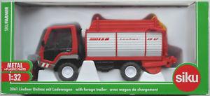【送料無料】模型車 モデルカー スポーツカー トラックsiku farmer 3061 lindner unitrac mit ladewagen 132 spur 1 neuovp