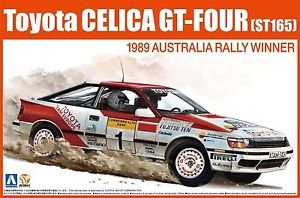 【送料無料】模型車 モデルカー スポーツカー トヨタセリカグアテマラオーストラリアキットbeemax aoshima n01 toyota celica gtfour st165 1989 australia winner 124 kit