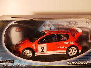 【送料無料】模型車 モデルカー スポーツカー プジョーモンテカルロsolido peugeot 206 wrc monte carlo 2003 art 20379501 118