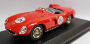 【送料無料】模型車 モデルカー スポーツカー スケールモデルフェラーリモンツァミッレミリアアレジbest 143 scale metal model pr05 ferrari 750 monza mille miglia 1992 alesi