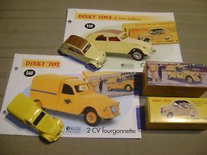 【送料無料 atlas】模型車 2cv モデルカー スポーツカー アトラスモデルdinky toys atlas modele 143 fourgonette postale 2cv et 2cv modele 61 2 voitures, LADYCOCO:b0c25f49 --- sunward.msk.ru