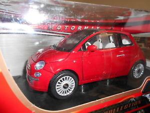 【送料無料】模型車 モデルカー スポーツカー ヒートフィアットヌォーヴァmot79163rd by motormax fiat nuova 500 2007 118