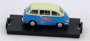 【送料無料】模型車 モデルカー スポーツカー フィアットオートハムfiat 600 multipla 1956 modelli auto s9815 143 brumm limited edition