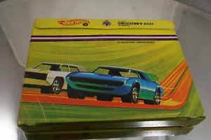【送料無料】模型車 モデルカー スポーツカー ホットホイールコレクタ24 car 1968 69 collector carrying case adjustable hot wheels redline