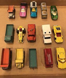 【送料無料】模型車 モデルカー スポーツカー マッチビンテージカーロットmatchbox amp; lesney mixed lot of vintage cars