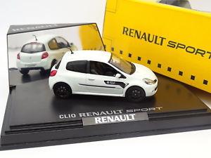 【送料無料】模型車 モデルカー スポーツカー ルノークリオスポーツワールドシリーズブランシュnorev 143 renault clio sport world serie blanche