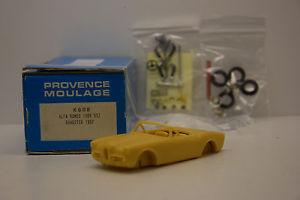 【送料無料】模型車 モデルカー スポーツカー キットエクスアンプロヴァンスムラージュヌフアルファロメオロードスターkit alfa romeo ssz roadster 1957 provence moulage 143 neuf en boite
