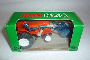【送料無料】模型車 モデルカー スポーツカー ガマミニビンテージメタルモデルフィアットトターガマgama mini  vintage metallmodell 940 fiat traktor ovp gama 57