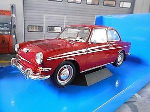 【送料無料】模型車 モデルカー スポーツカー フォルクスワーゲンフォルクスワーゲンタイプvolkswagen vw 1500 s 1500s typ 3 rot red 1963 mcg neu 118