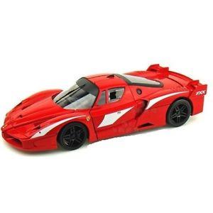 【送料無料】模型車 モデルカー スポーツカー フェラーリferrari fxx evoluzione 2007 red 118 t6245 hotwheels