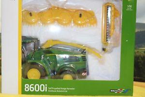 【送料無料】模型車 モデルカー スポーツカー ジョンディアフォーレージハーベスタ132 john deere 8600 self propelled forage harvester, britains br43198