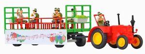 【送料無料】模型車 モデルカー スポーツカー ファイルトターkibri 12226 lanz traktor mit festwagen