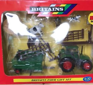 【送料無料】模型車 モデルカー cow スポーツカー ファームセットトタートレーラーブランドフェンスbritains set farm gift set 132 farm 40841 tractor cow trailer fence brand, ココビーチ:08e7f90e --- sunward.msk.ru